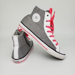 Converse Girl Junior CT Side Zip Hi Top Sneakers